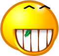Happy Grin emoticon (Happy Emoticons)
