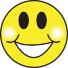 Supper Happy Face emoticon (Happy Emoticons)