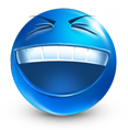 Laughing Hard emoticon (Laughing Emoticons)
