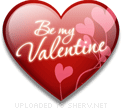 Be My Valentine Heart Love emoticon (Valentine Emoticons)