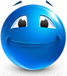 Fine emoticon (Blue Face Emoticons)