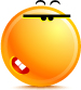 Bad Smile emoticon (Butter Face emoticons)