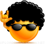 Cool Rocker emoticon (Butter Face emoticons)