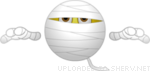 icon of mummy halloween