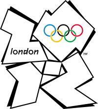 2012 Olympics Logo emoticon (Olympic games emoticons)