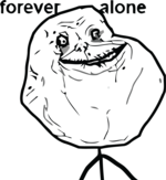 forever alone rage smiley