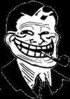 Troll Dad backgrounded emoticon (Rage Emoticons)