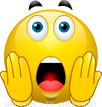 Open Mouth Surprised emoticon (Shocked emoticons)