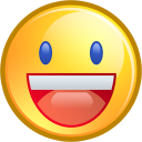 cheery emoticon