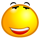 Feel Good emoticon (Smiling emoticons)