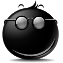 Secret Smile emoticon (Smiling emoticons)