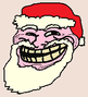 Troll Santa emoticon (Troll emoticons)