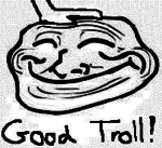 troll smile smiley