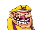 Troll Wario smiley (Troll emoticons)