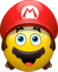 Super Mario smiley (Video Game emoticons)