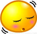 dozing emoticon