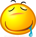 Drooling emoticon (Yellow Face Emoticons)