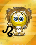 Leo Sign emoticon (Zodiac emoticons)