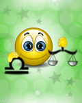 Libra Sign emoticon (Zodiac emoticons)