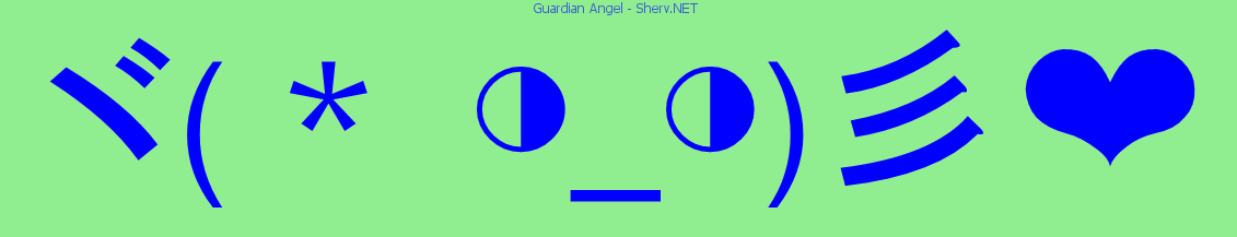 Guardian angel text emoticon free text and ascii emoticons