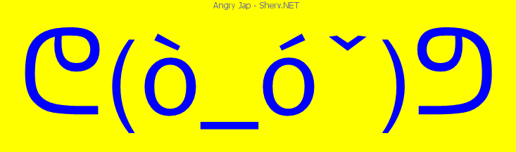 Angry jap text emoticon free text and ascii emoticons