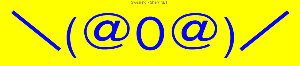 Swearing text emoticon free text and ascii emoticons