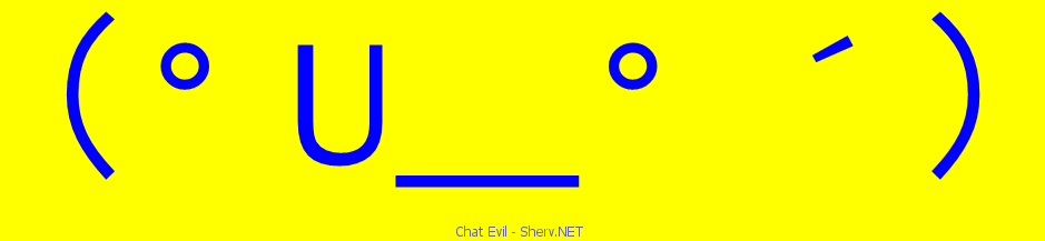 One Line Ascii Art Kiss : Chat evil text emoticon free and ascii emoticons