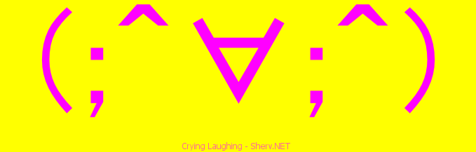 Crying Laughing Facebook emoticon | Text art and emoticons