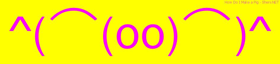 How Do I Make A Pig Text Emoticon Free Text And Ascii Emoticons