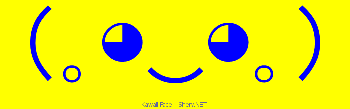 kawaii face facebook emoticon text art and emoticons