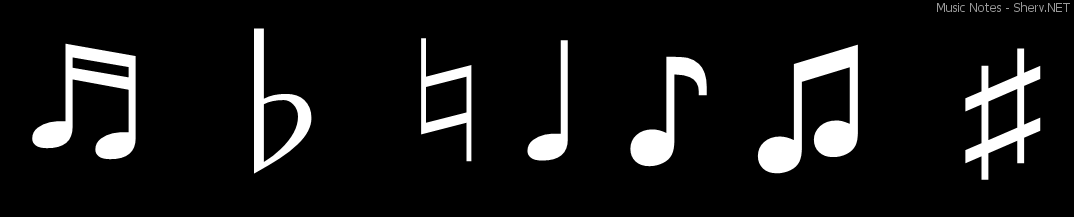 music notes text emoticon