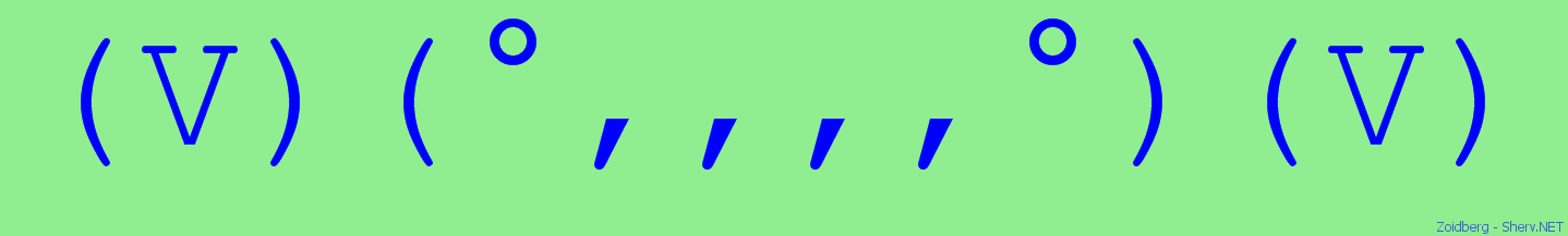 One Line Ascii Art Zoidberg : Zoidberg text emoticon free and ascii emoticons
