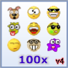 Emoticons Pack 4