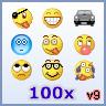 MSN Emoticons - MSN Emoticons pack 9 - 100 MSN Emoticons