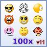 Free MSN Emoticons - 100 MSN Emoticons - Emoticons Pack 11