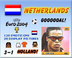 Euro 2004 EK - emotions, emoticons and display pictures!
