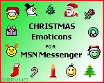 Christmas MSN Emoticons