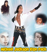 Michael Jackson tribute icons and avatars